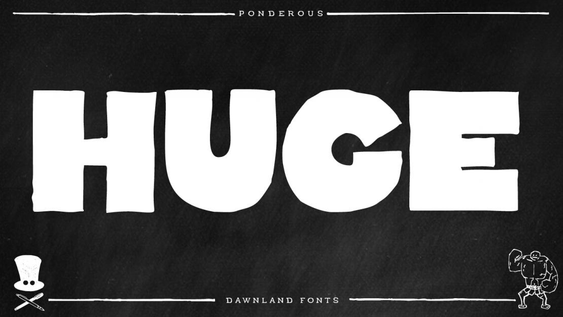 dawnland_fonts_Ponderous