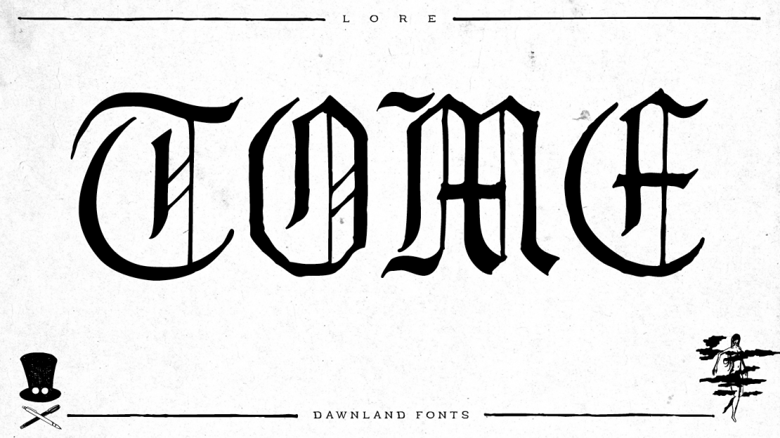 dawnland_fonts_Lore